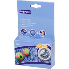 Wenko Anti Pluis Wasbal 6 Stuks