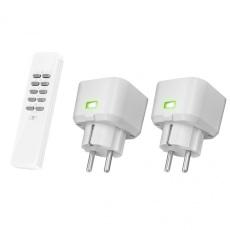 Klik Aan Klikt Uit Comp WL socket Switch Set ACC2-3500R NL