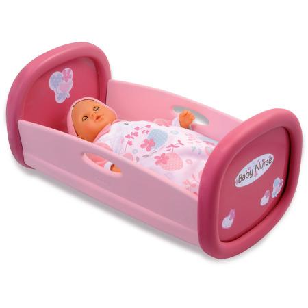 Baby Schommel Bed.Smoby Baby Nurse Poppen Schommel Bed Poppenwagens Wiegjes