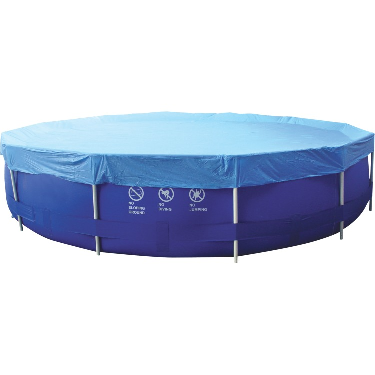 Cover Sirocco rond blauw 450