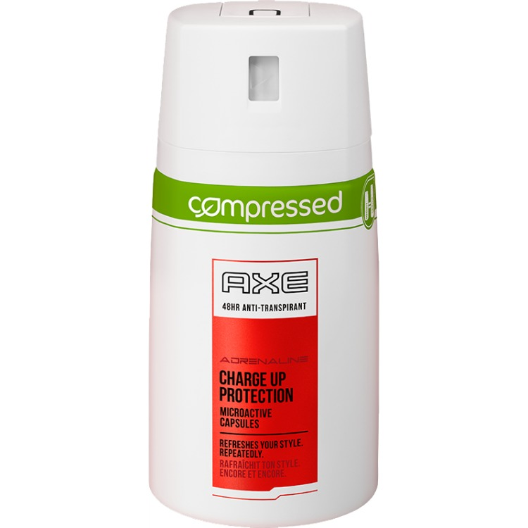 Image of Adrenaline Compressed Deodorant Spray, 100 Ml