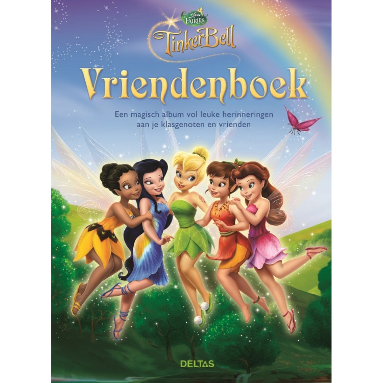 Image of Disney Fairies Vriendenboek