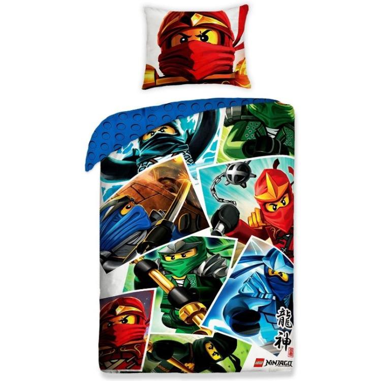 Dekbed Lego Ninjago Cartoon: 140x200/70x90 Cm