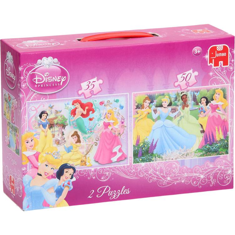 Jumbo Princess Puzzel 2 in 1 box -Puzzel - 35 en 50 stuks