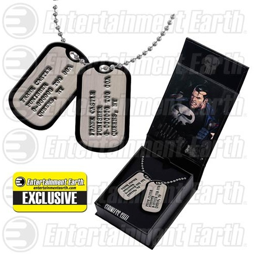 Image of Punisher: Frank Castle Dog Tags Replica - EE Exclusive