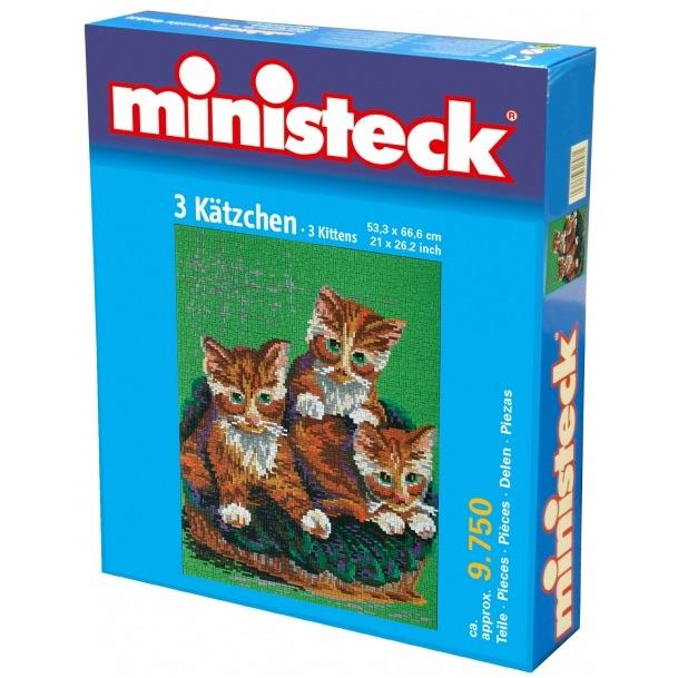 3 Katten, ca. 9700 stukjes