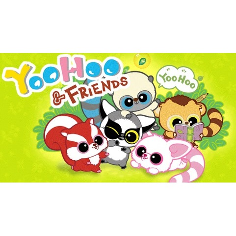 Image of Yoohoo And Friends Sleutelhanger, 10 Cm