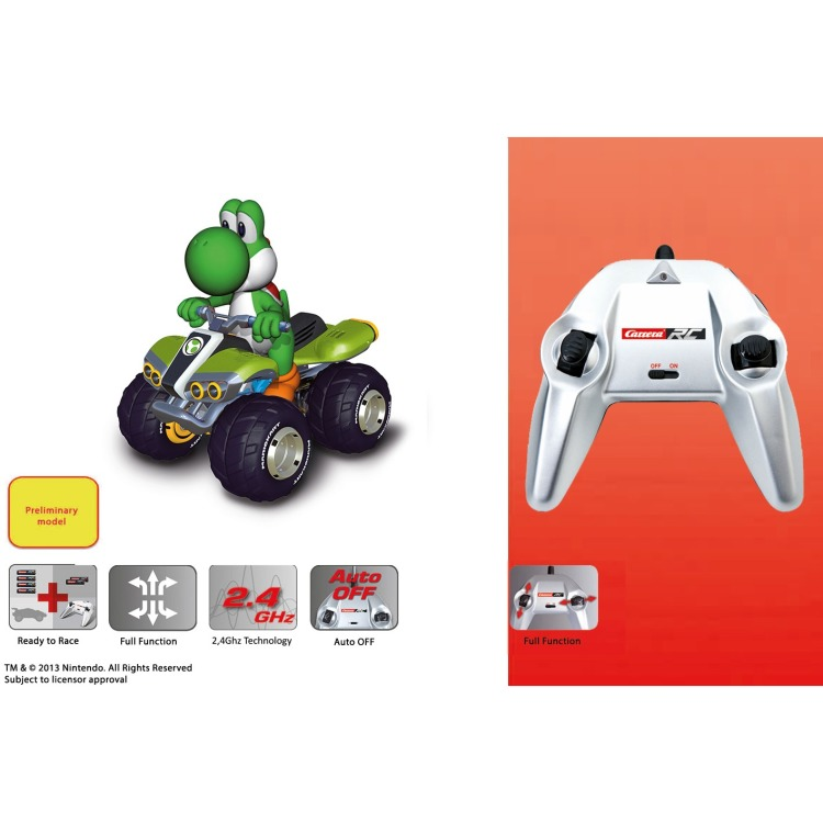 Image of Mario Kart 8: Yoshi RC 2,4 GHz 1:20 Scale