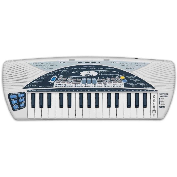 Image of Bontempi digitaal keyboard 32 keys