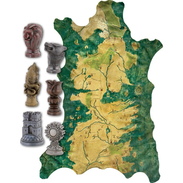 Image of Game Of Thrones: Map Marker Set With Map