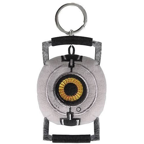 Image of Portal 2: Portal 2 Space Sphere Plush Key Chain