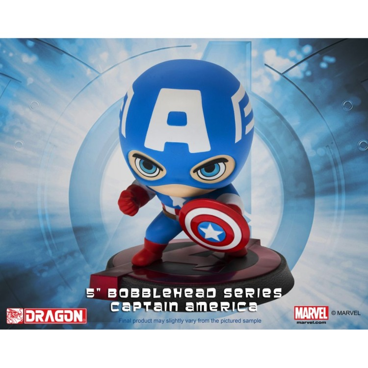 Image of Marvel: Avengers - Age Of Ultron - Captain America Bobblehead