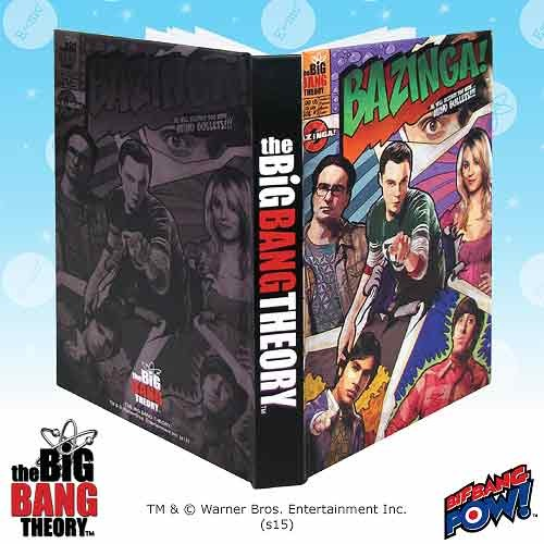 Image of The Big Bang Theory Bazinga Journal