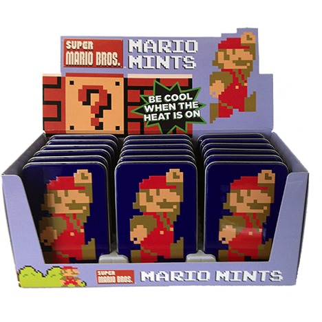 Image of Nintendo: Mario 8-bit Mints
