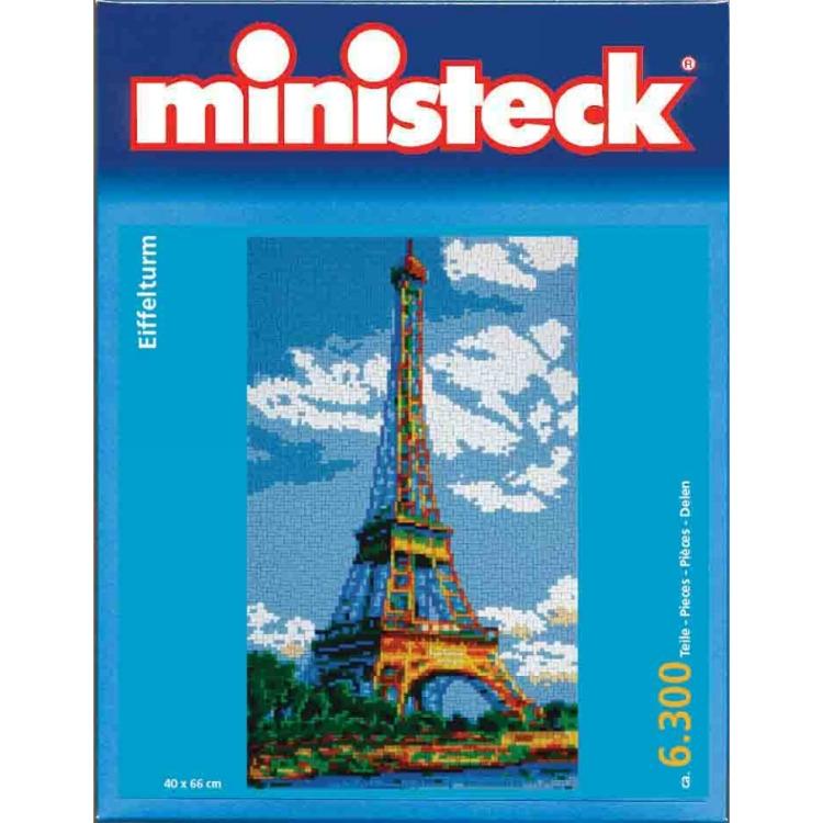 Ministeck set om de afbeelding van de eiffeltoren?te maken.natuurlijk kun je ook je eigen fantasie gebruiken ...