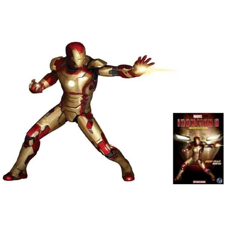 Marvel - Iron Man 3: Mark XLII  Model Kit