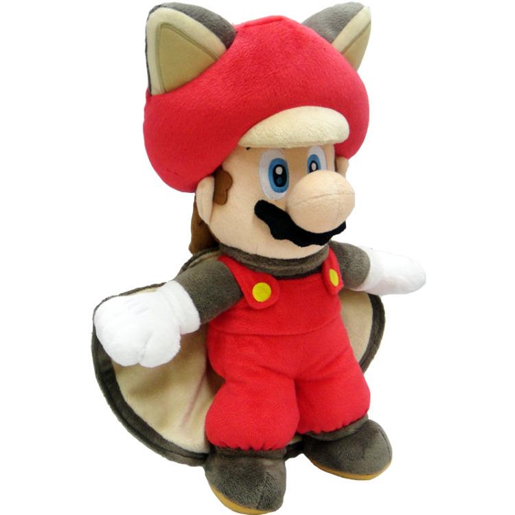 Super Mario Bros.: Flying Squirrel Mario 35 cm Pluche