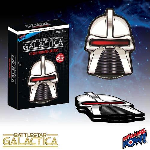 Image of Battlestar Galactica: Cylon Centurion Coasters Set Of 4