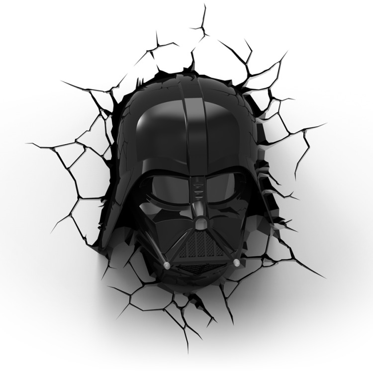 Image of 3D Light Star Wars Darth Vader
