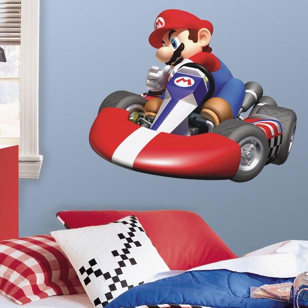 RoomMates Muursticker Super Mario Kart - Multi