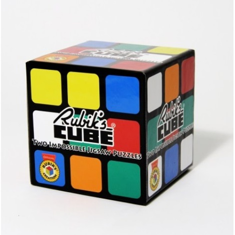 Rubiks Cube: Two Impossible Jigsaw Puzzles