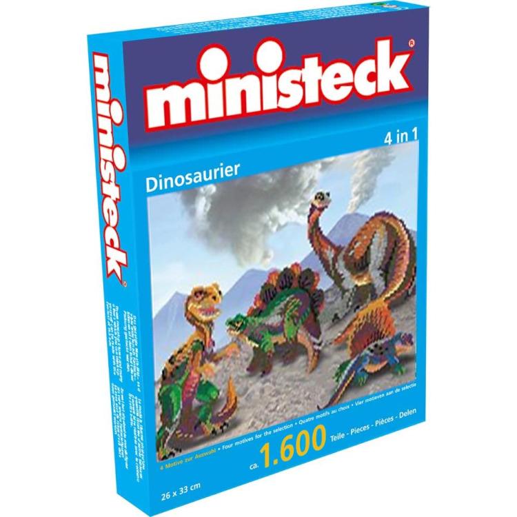 Ministeck Dinosaurus 4-in-1 1600st