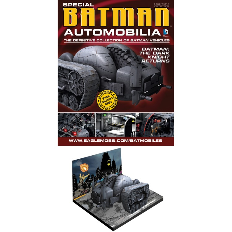 Image of Dc Batman Automobilia Fig Coll Mag Special Dark Knight Returns Tank