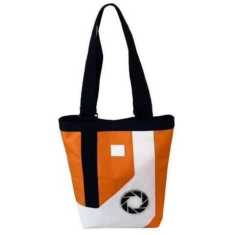 Image of Portal 2: Chell Jumpsuit Tote