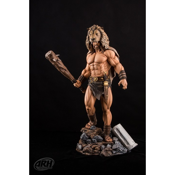 Image of Hercules 1:4 Scale Polystone Statue