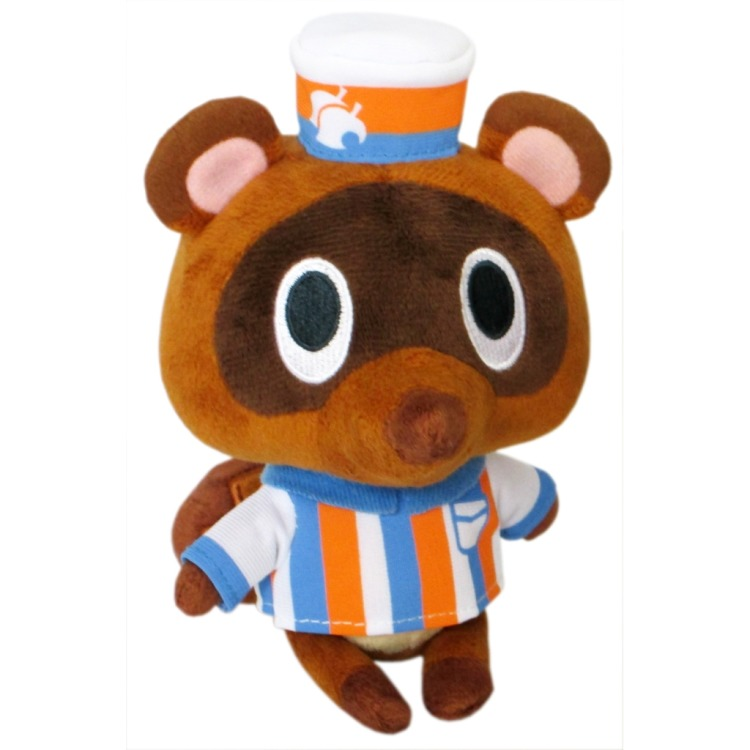 Animal Crossing: Timmy Store Clerk 5 Inch Plush