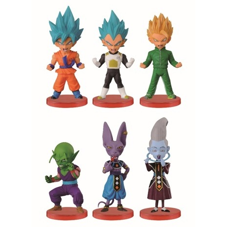 Image of Dragonball Z: Z Warriors 7 Cm Figurine