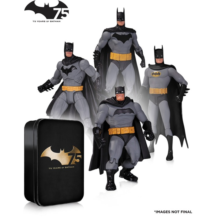Image of Batman 75th Anniversary Action Figure 4