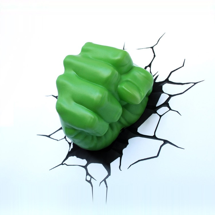 Image of 3D Hulk Fist