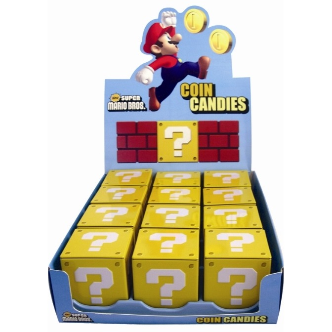 Image of Nintendo Coin Candies