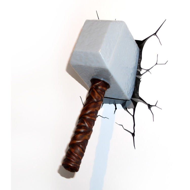 Image of 3D Light Marvel Thor Hammer