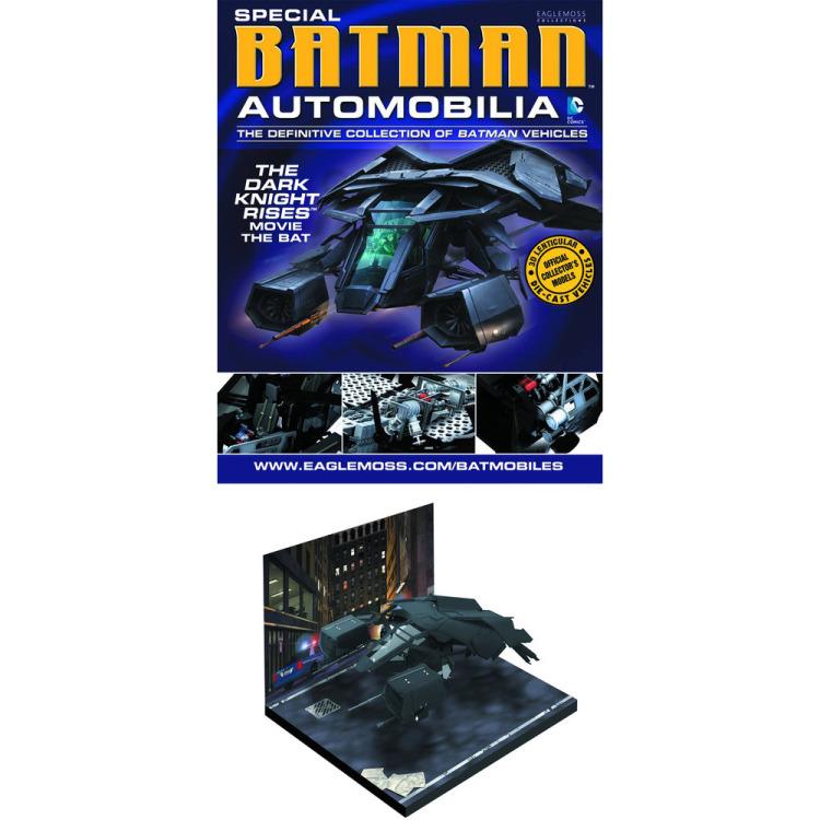 Image of DC Batman Automobilia: Dark Knight Rises: The Bat