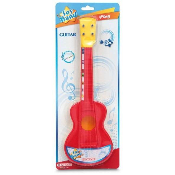 Image of Bontempi gitaar met nylon snaren