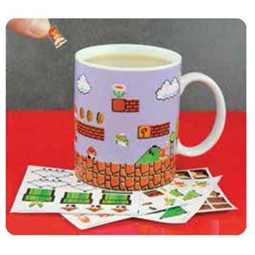 Super Mario Bros: Build A Level Mug