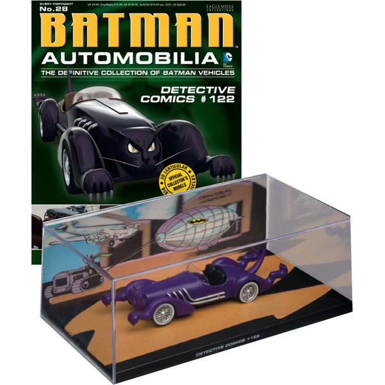 Image of DC Batman: Automobilia #28 Detective Comics #122