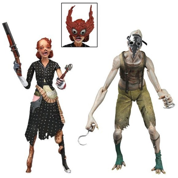 Neca Bioshock: Splicer  2-Pack (Ladysmith and Crawler)