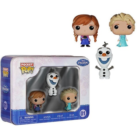Funko: Pocket Pop: Disney - Frozen Tin