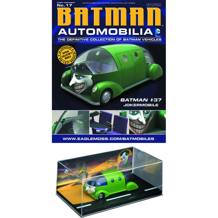 Image of DC Batman Automobilia: #17 Batman #37 Jokermobile