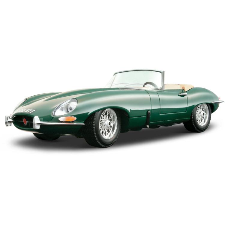 Bburago Jaguar E-Type cabrio 1961 1:18