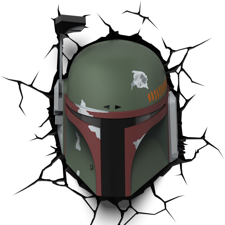 Image of 3D Light Star Wars Boba Fett