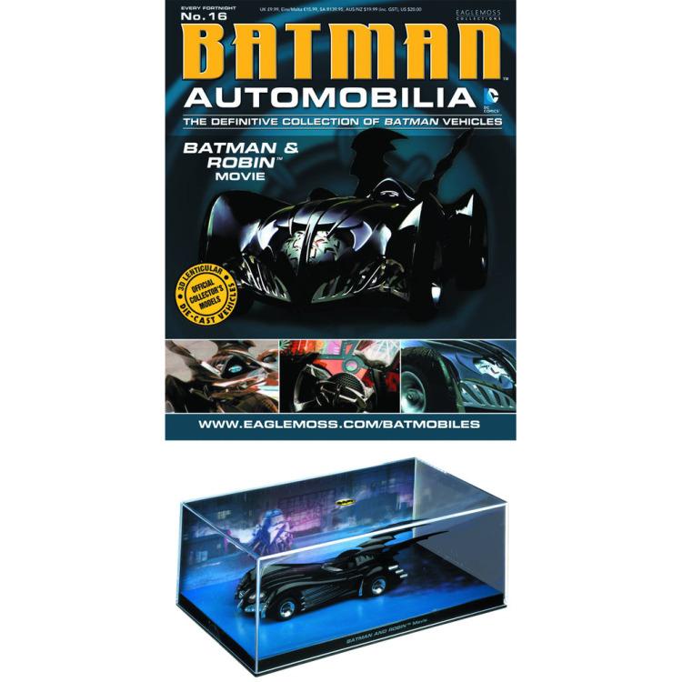 Image of DC Batman Automobilia: #16 Batman & Robin Movie