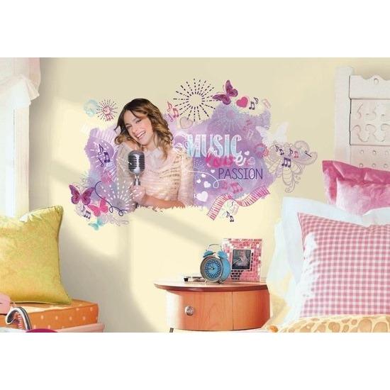 RoomMates Muurstickers Violetta Music, Love & Passion