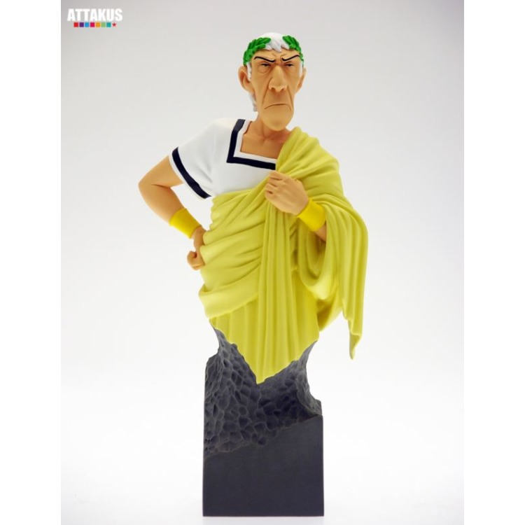 Image of Asterix: Caesar In Yellow Toga Bust