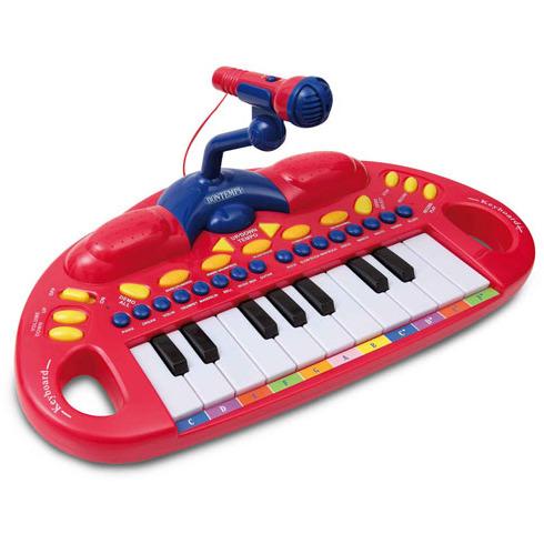 Image of Bontempi elektronisch toetsenbord met microfoon