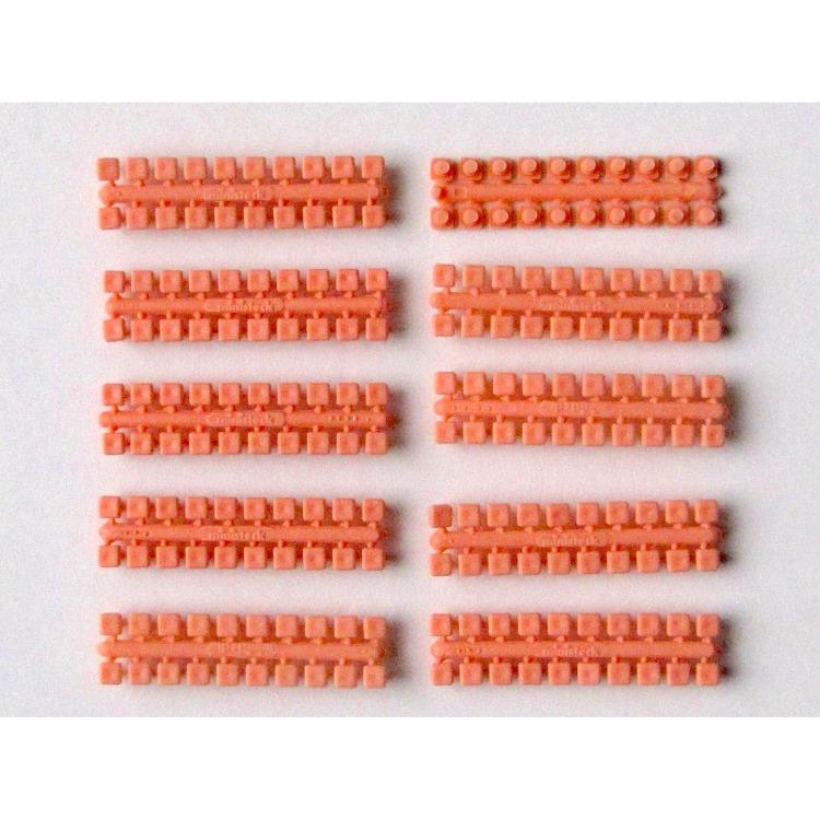 Ministeck 10 x 1 Kleurstrips - huidskleur