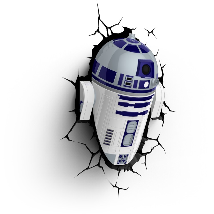 Image of 3D Light Star Wars R2-D2